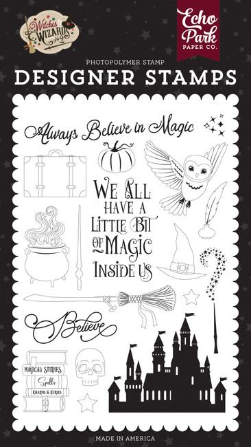 Witches and Wizards No. 2: Believe In Magic Stamp Set