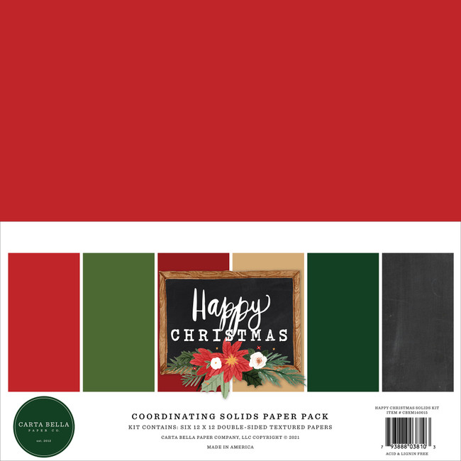 Happy Christmas Solids Kit