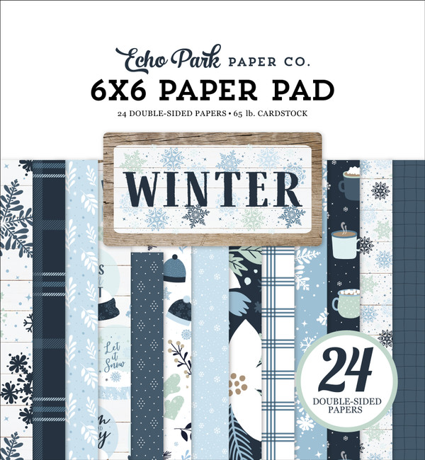 Winter 6x6 Paper Pad
