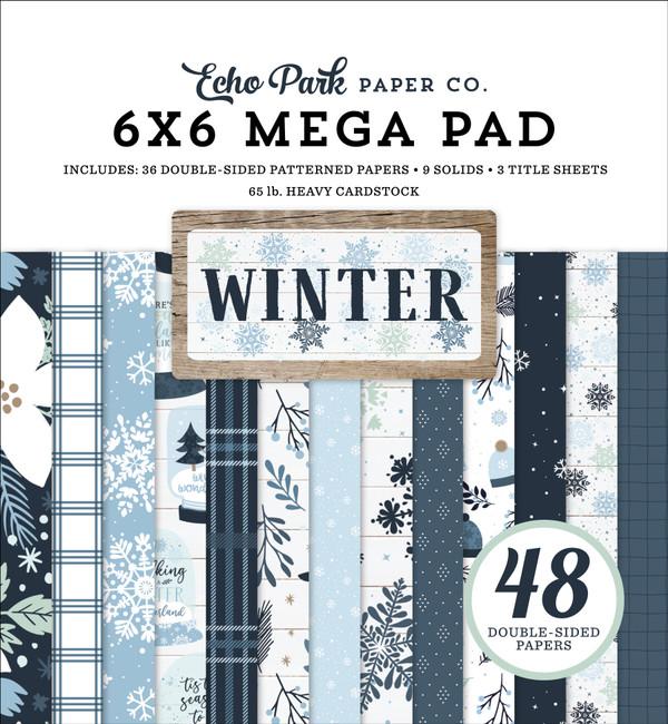 Winter Cardmakers 6x6 Mega Pad