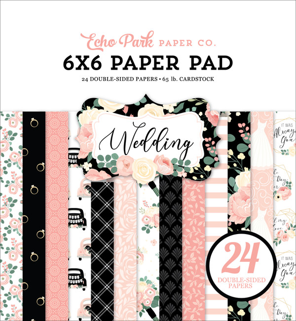 Wedding 6x6 Paper Pad