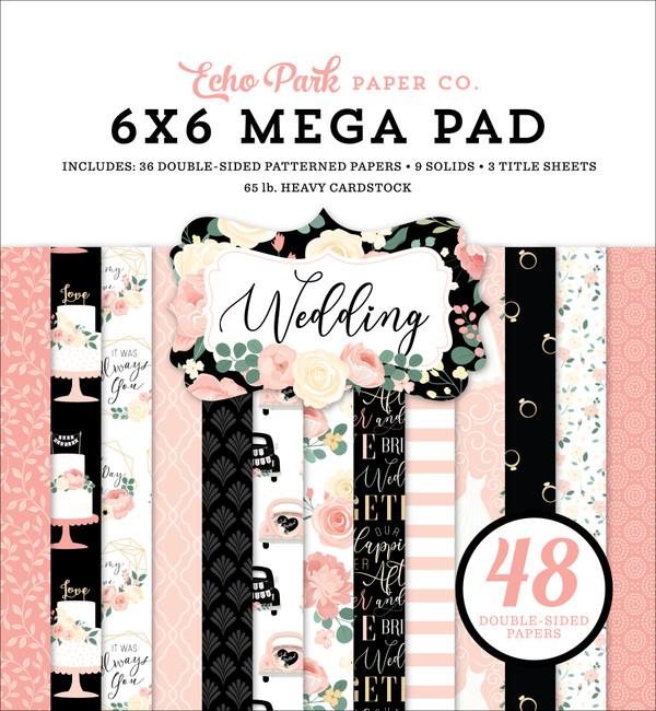 Wedding Cardmakers 6x6 Mega Paper Pad