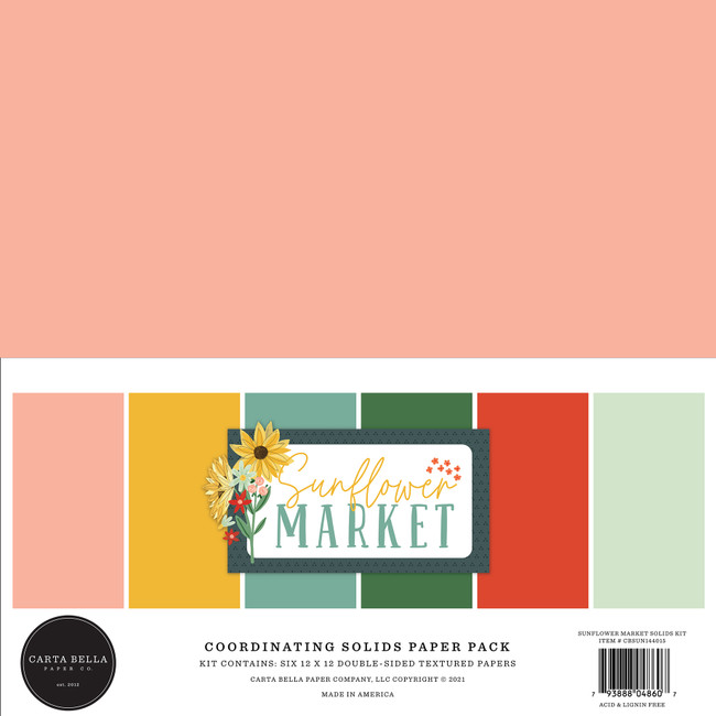 Sunflower Market Solids Kit