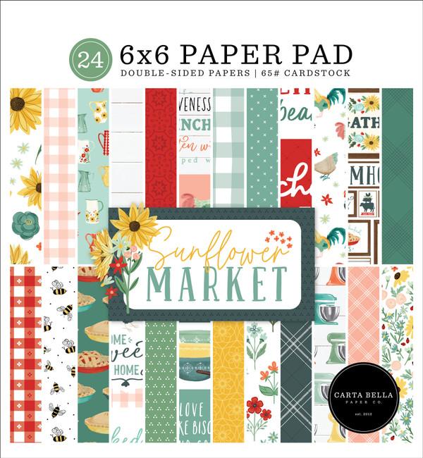 Sunflower Market 6x6 Paper Pad