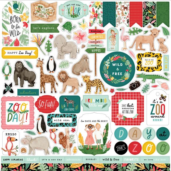 Animal Kingdom Element Sticker