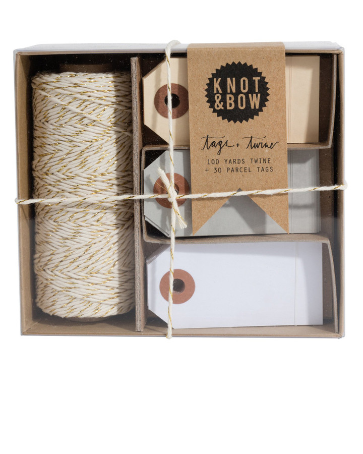 Knot & Bow: Tag & Twine Gold