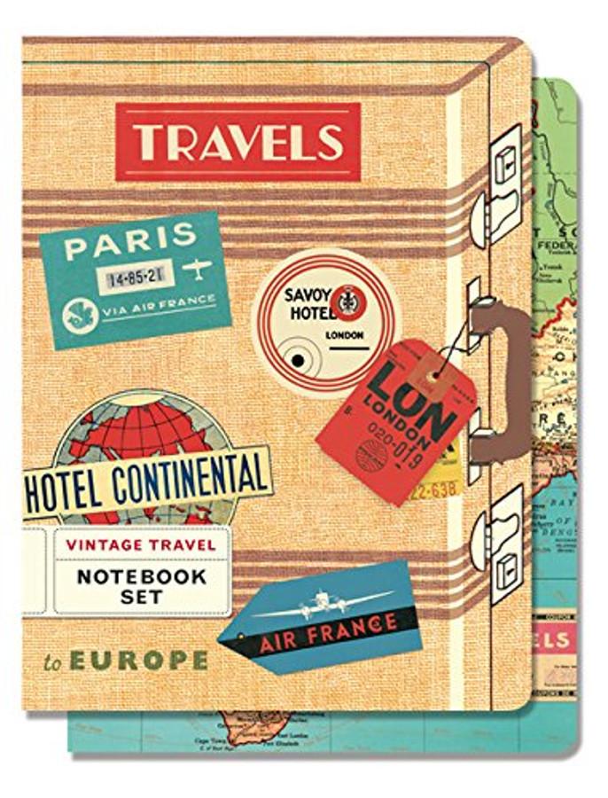 Cavallini & Co: Vintage Travel Notebooks