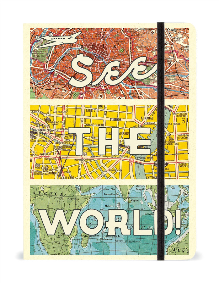 Cavallini & Co: See the World Notebook