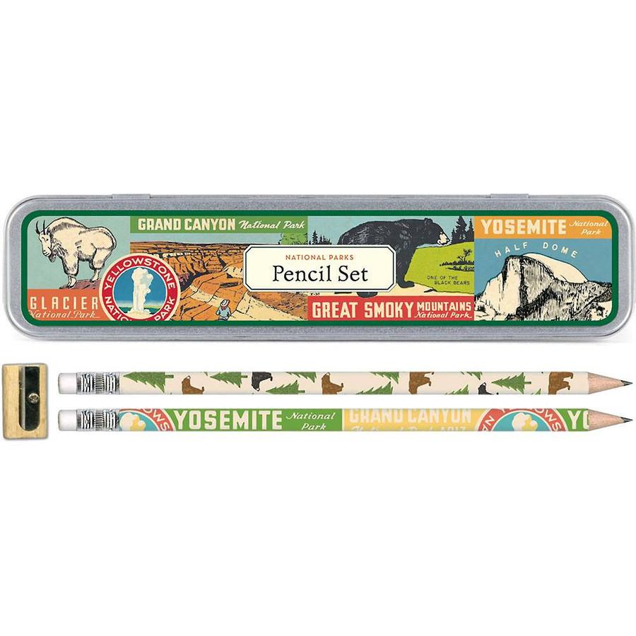Cavallini & Co: National Parks Pencil Set