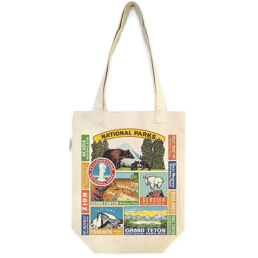 Cavallini & Co: National Parks Tote Bag