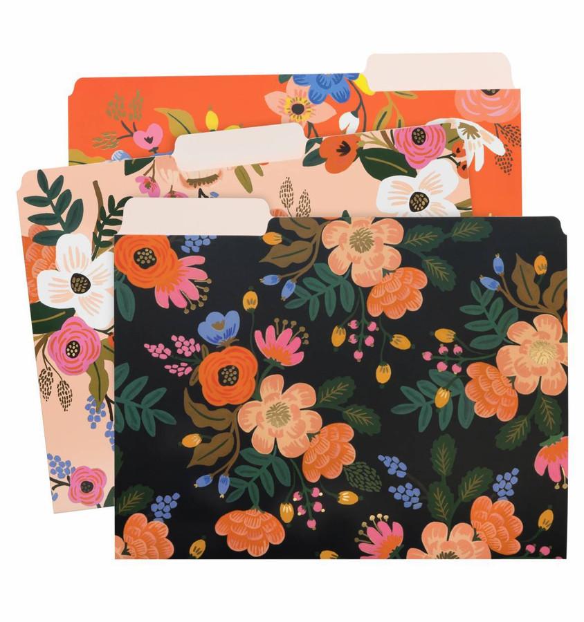 Rifle Paper Co: Lively Floral File Folder Set