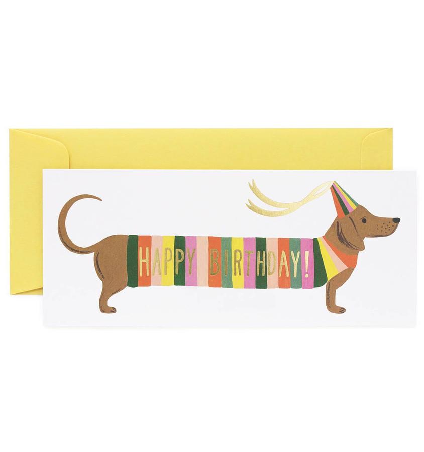 Rifle Paper Co: Hot Dog No. 10 Card