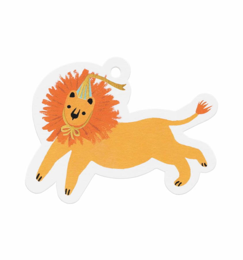 Rifle Paper Co: Party Lion Gift Tags