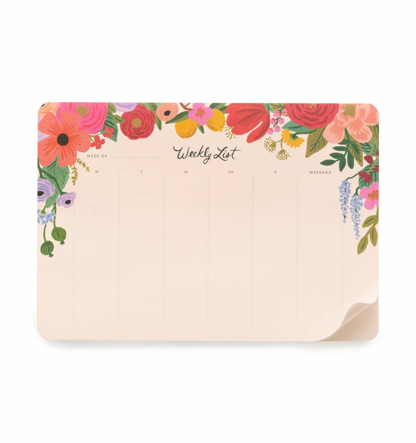Rifle Paper Co: Garden Party Weekly Planner