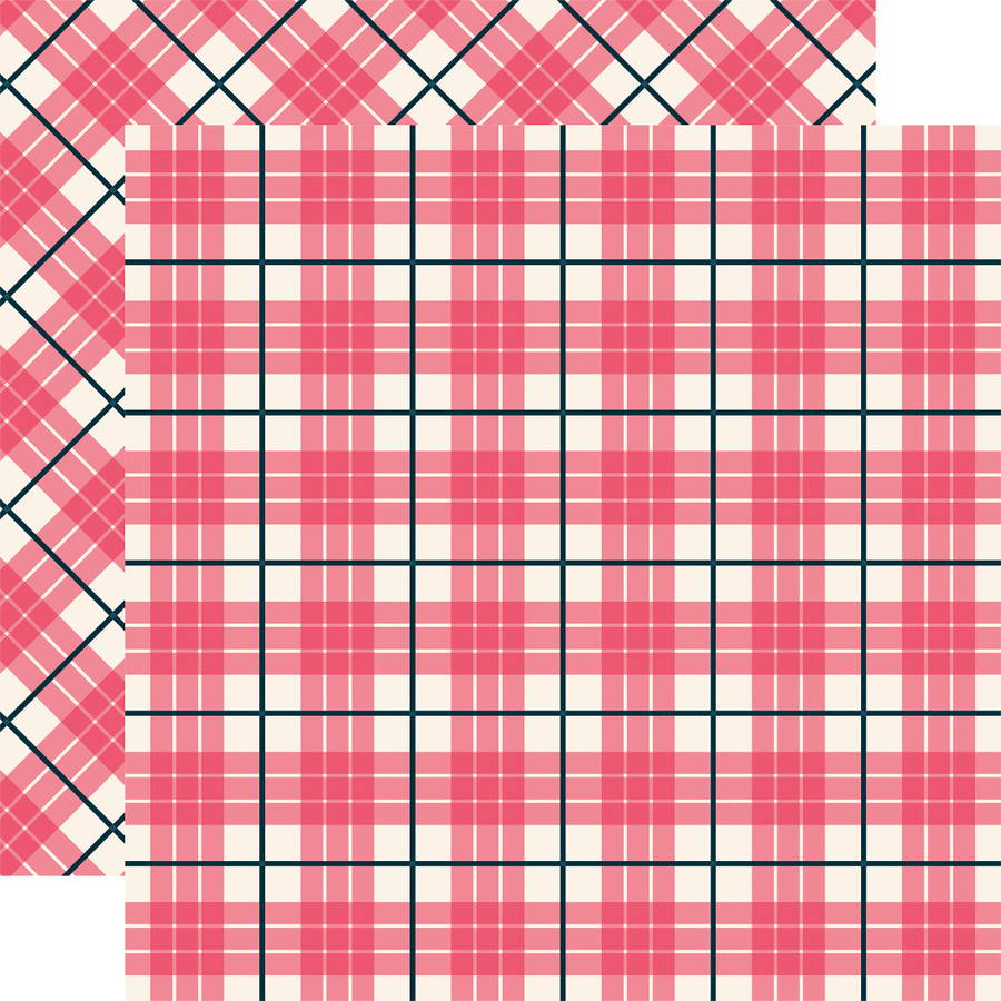 Tartan No. 1: Newport 12x12 Patterned Paper