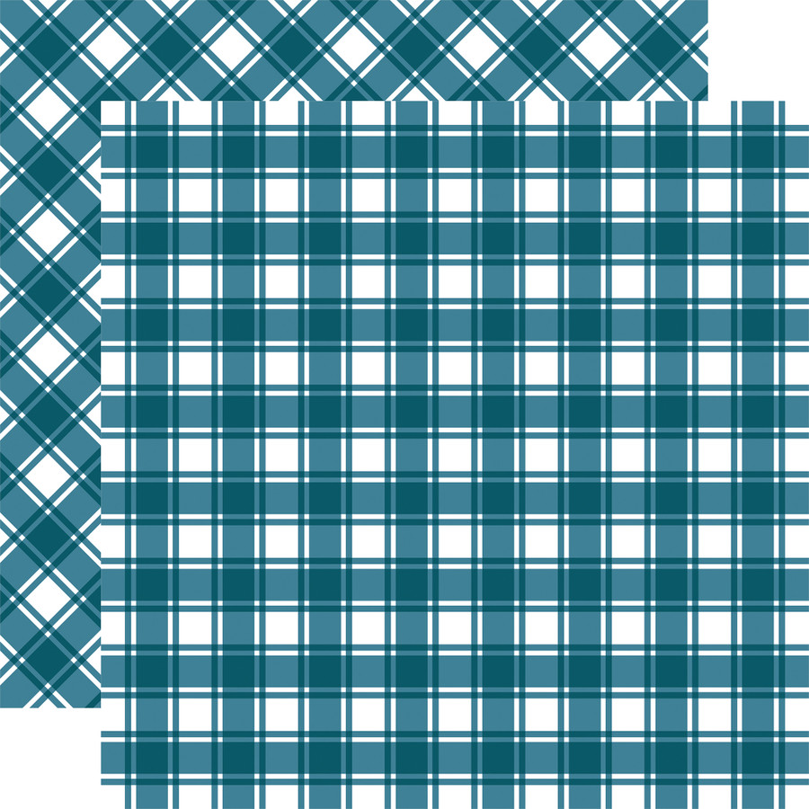 Tartan No. 1: Nantucket 12x12 Patterned Paper