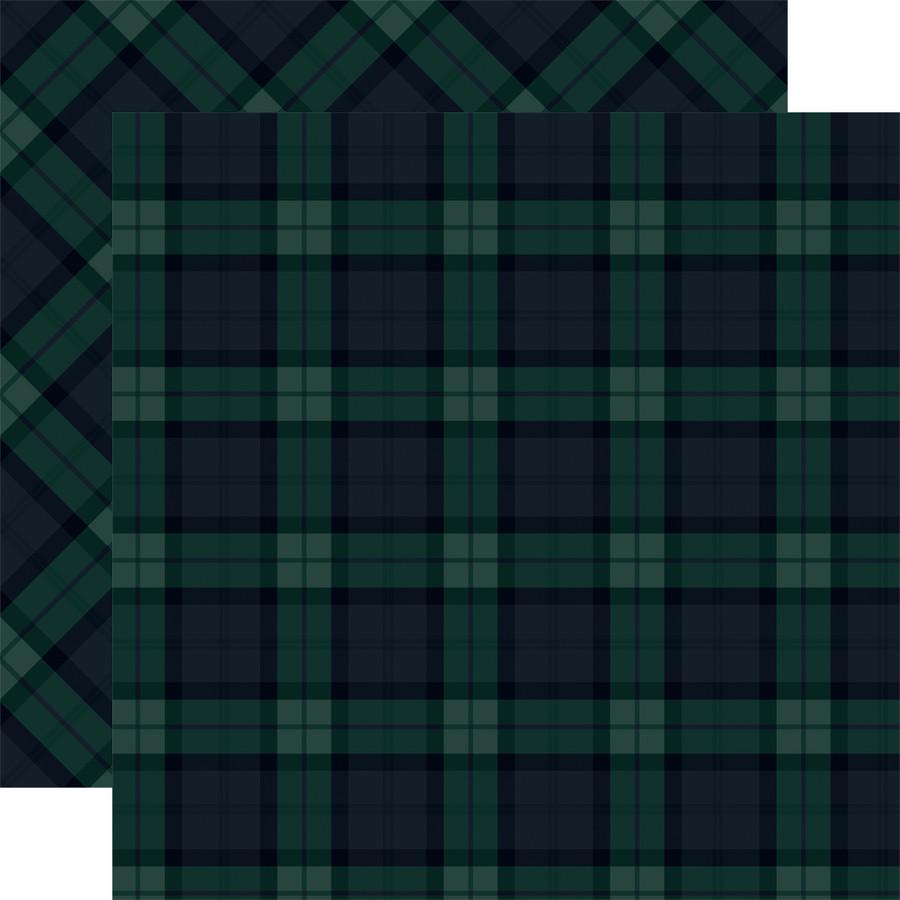 Tartan No. 1: Black Watch 12x12 Patterned Paper