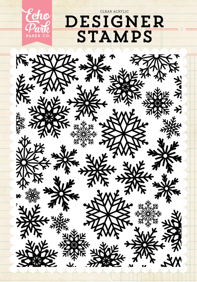 Stamps: Winter Snow Stamp