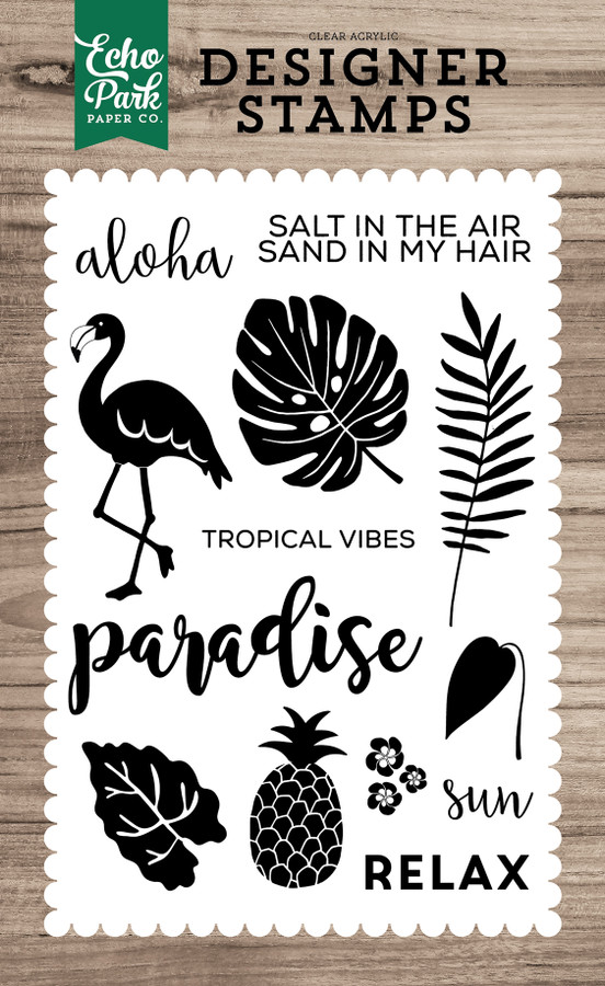 Stamps: Tropical Vibes Stamp