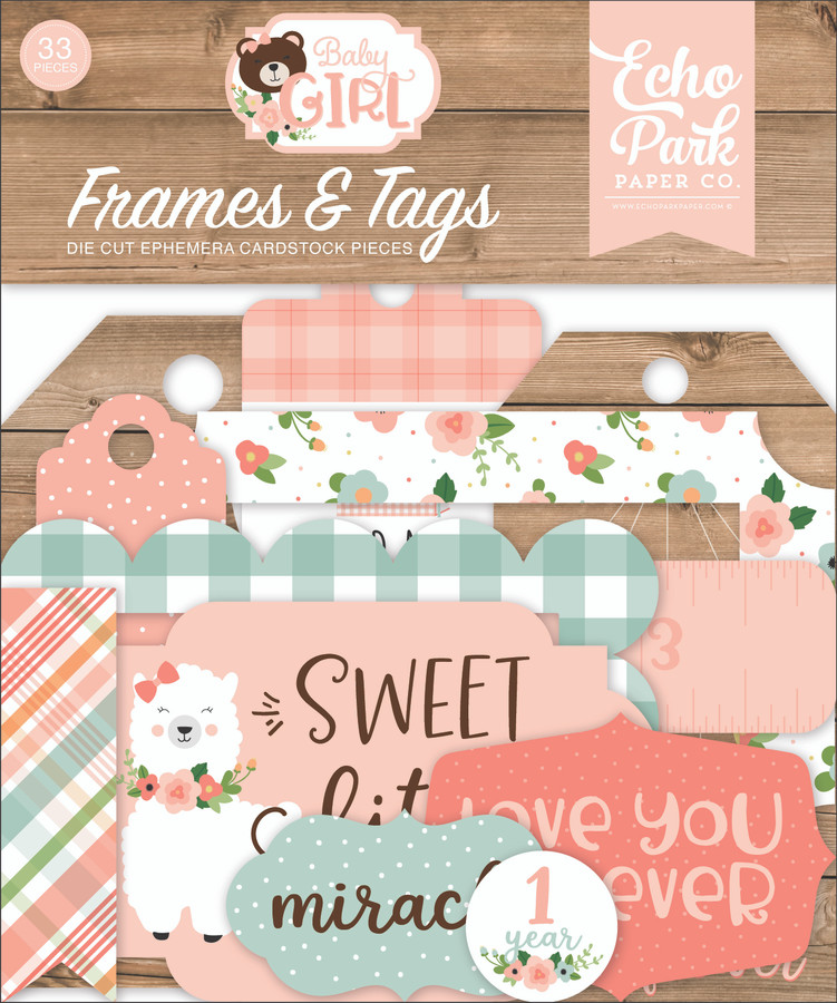 Baby Girl: Frames & Tags
