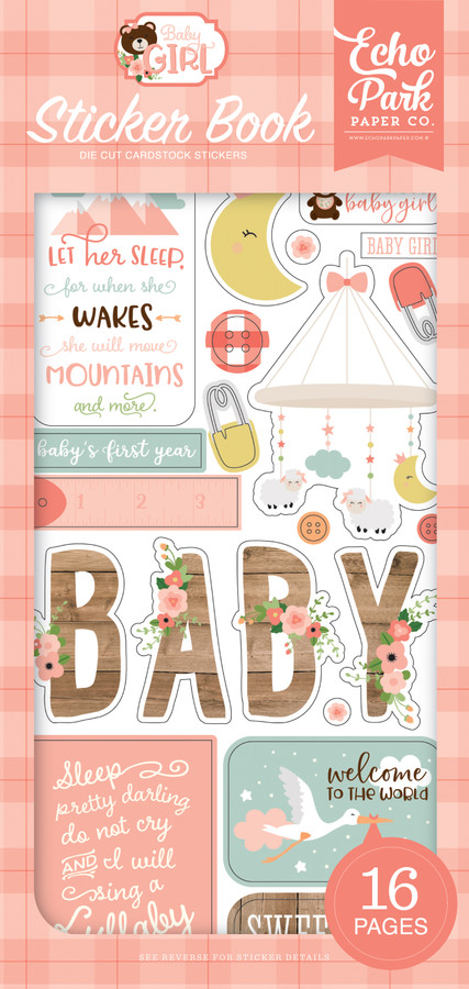 Baby Girl: Sticker Book