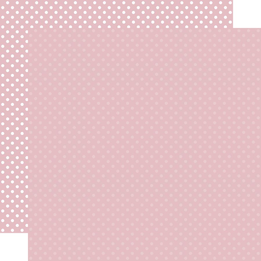 Dots & Stripes: Light Mauve 12x12 Patterned Paper