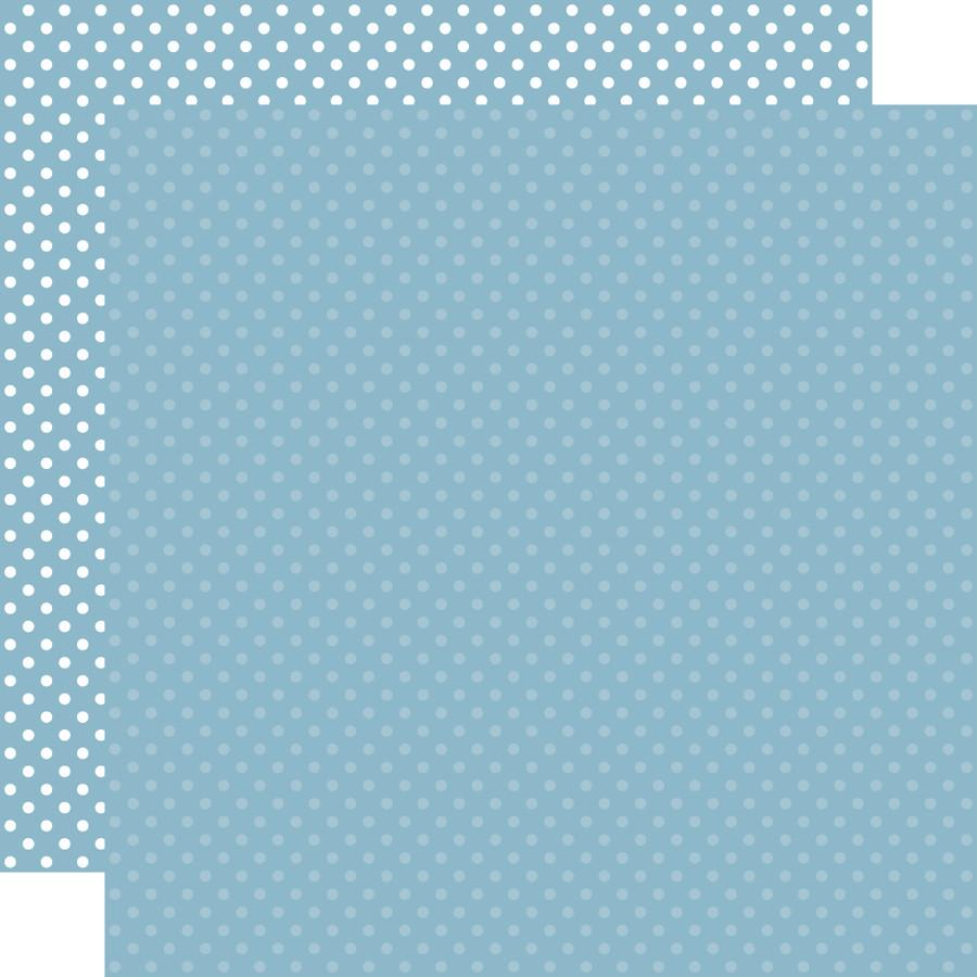 Dots & Stripes: Blue  12x12 Patterned Paper
