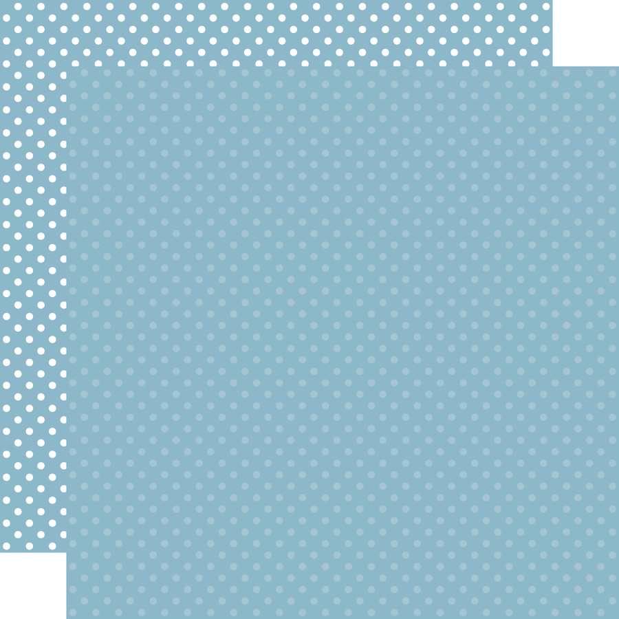Dots & Stripes: Blue  12x12 Patterned Paper