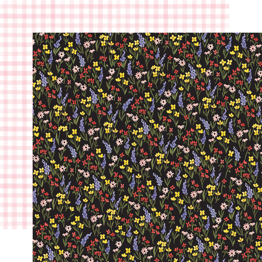Oh Happy Day: Perfect Floral 12x12 Patterned Paper