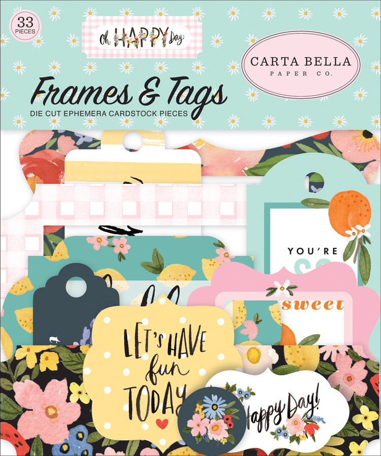 Oh Happy Day: Frames & Tags