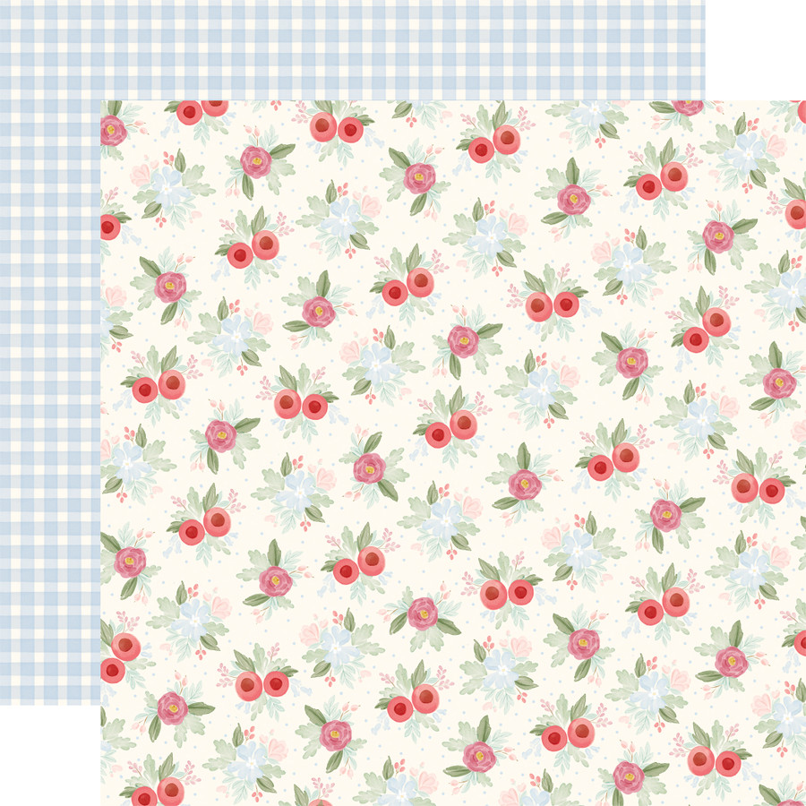 Farmhouse Market: Vintage Floral 12x12 Patterned Paper