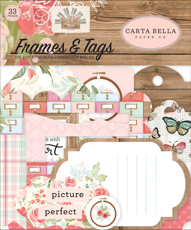 Farmhouse Market: Frames & Tags