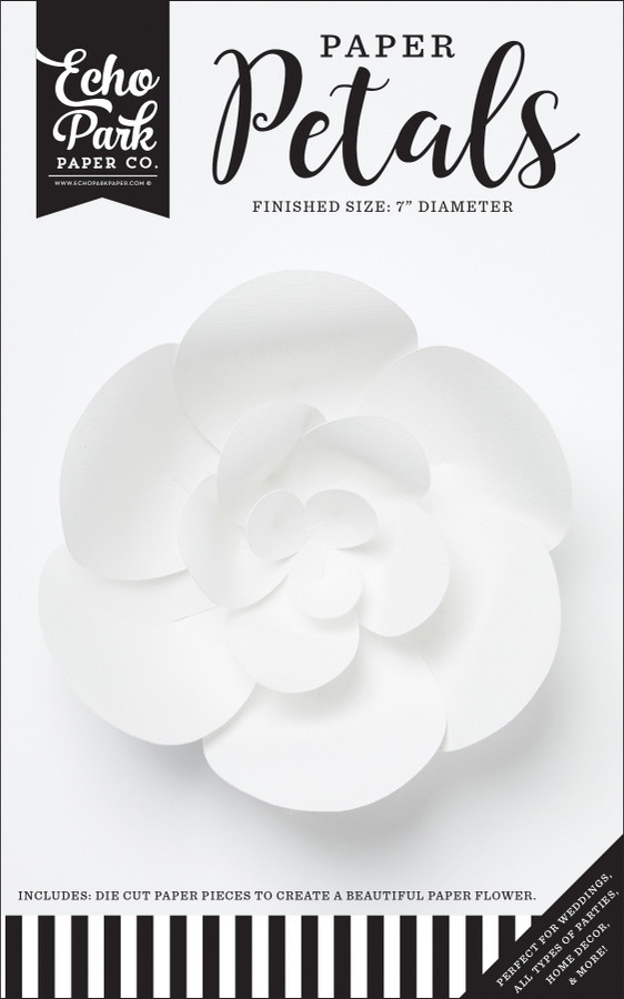 Paper Petals: Small White Peony