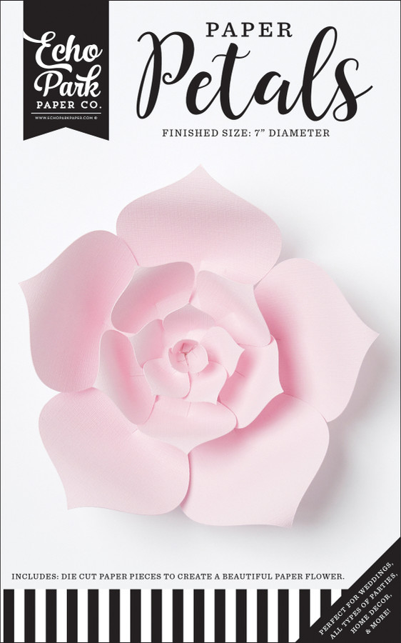 Paper Petals: Small Light Pink Dahlia