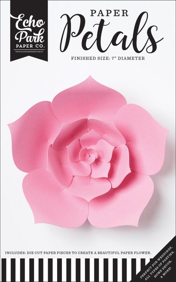 Paper Petals: Small Pink Dahlia