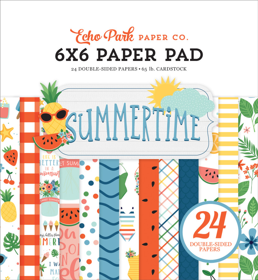 Summertime: 6x6 Paper Pad