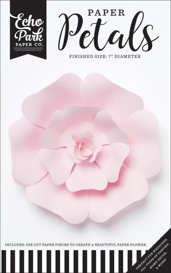 Paper Petals: Small Light Pink Rose