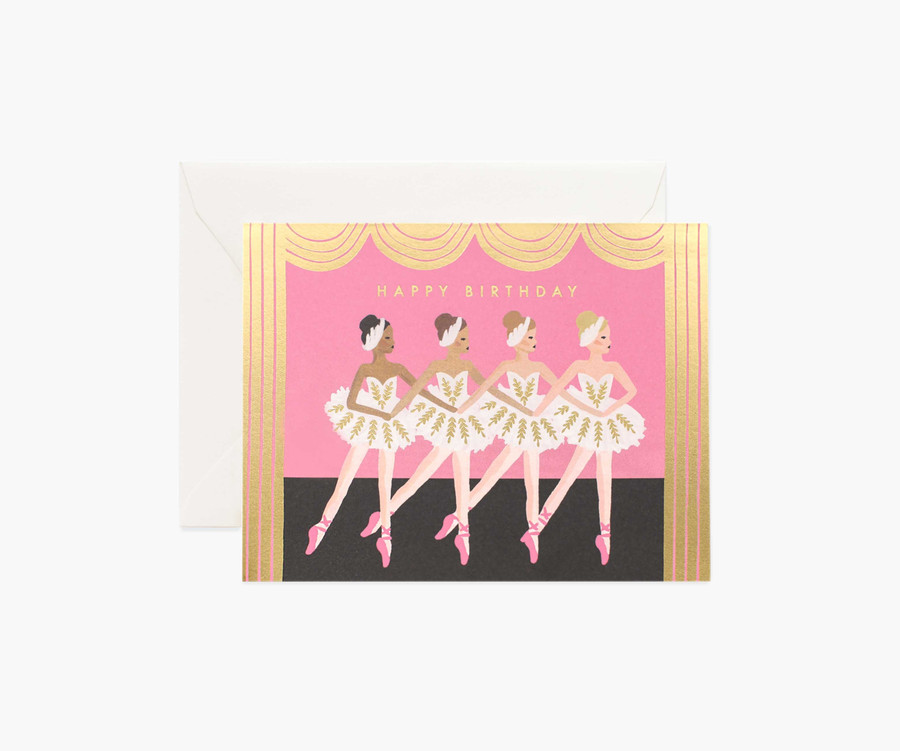Rifle Paper Co: Birthday Ballet Boxed Card Set