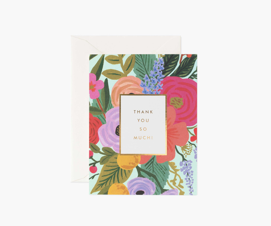 Rifle Paper Co: Garden Party Thank You Card