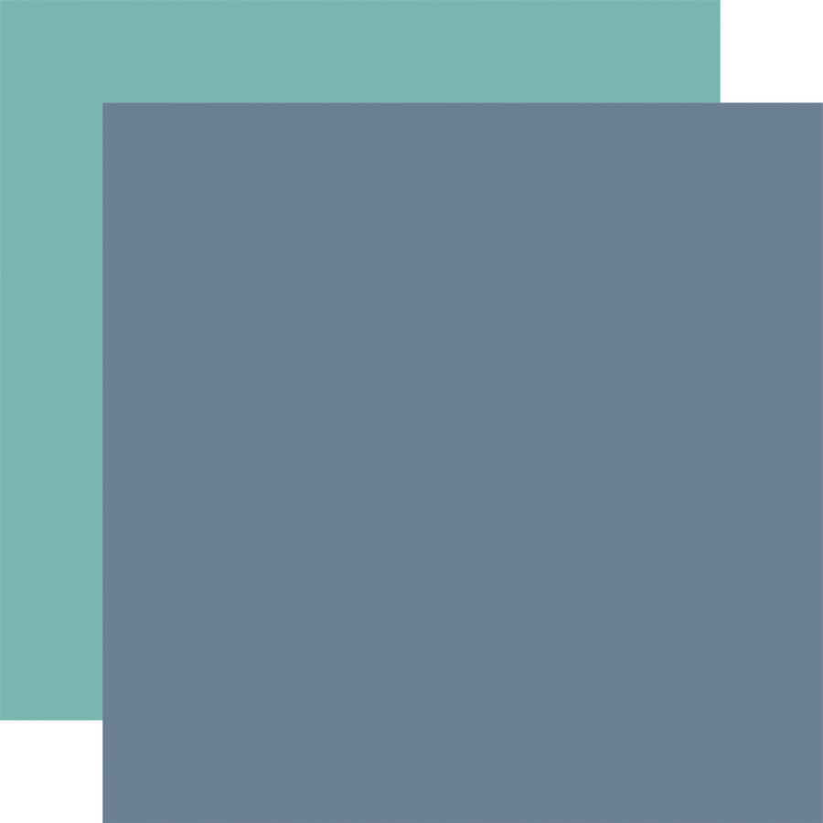 By The Sea: Designer Solids - Blue/Teal 12x12 Patterned Paper