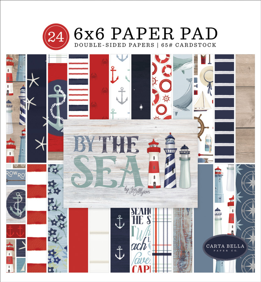 By The Sea: 6x6 Paper Pad
