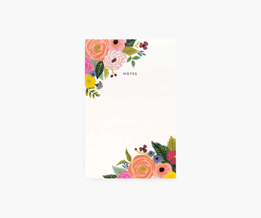 Juliet Rose Blank Notepad