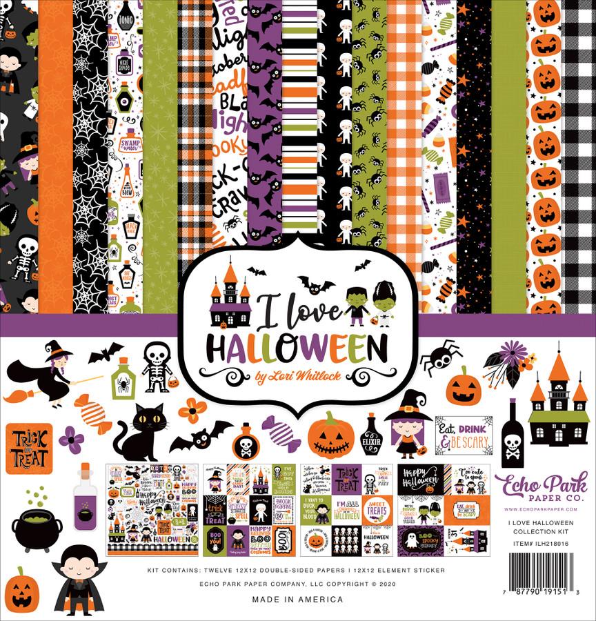 I Love Halloween: Collection Kit