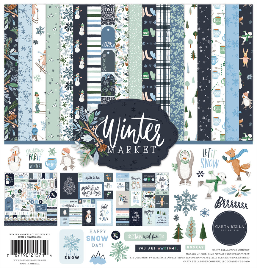Winter Market Collection Kit