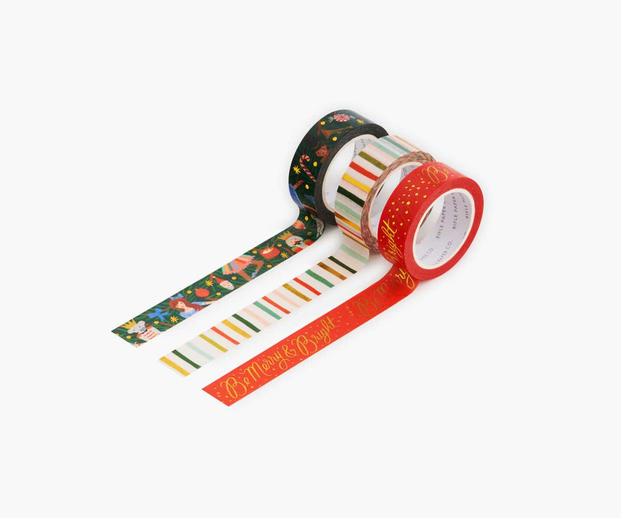 Rifle Paper Co.: Nutcracker Holiday Paper Tape