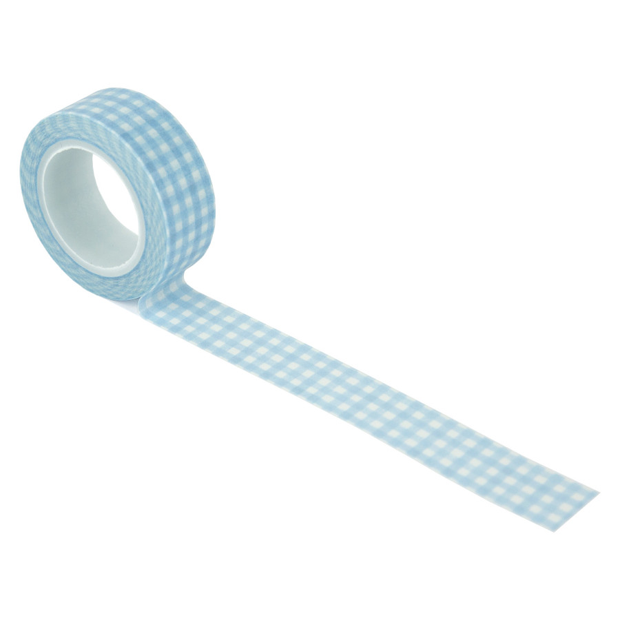 Welcome Baby Boy: Perfect Plaid Washi Tape