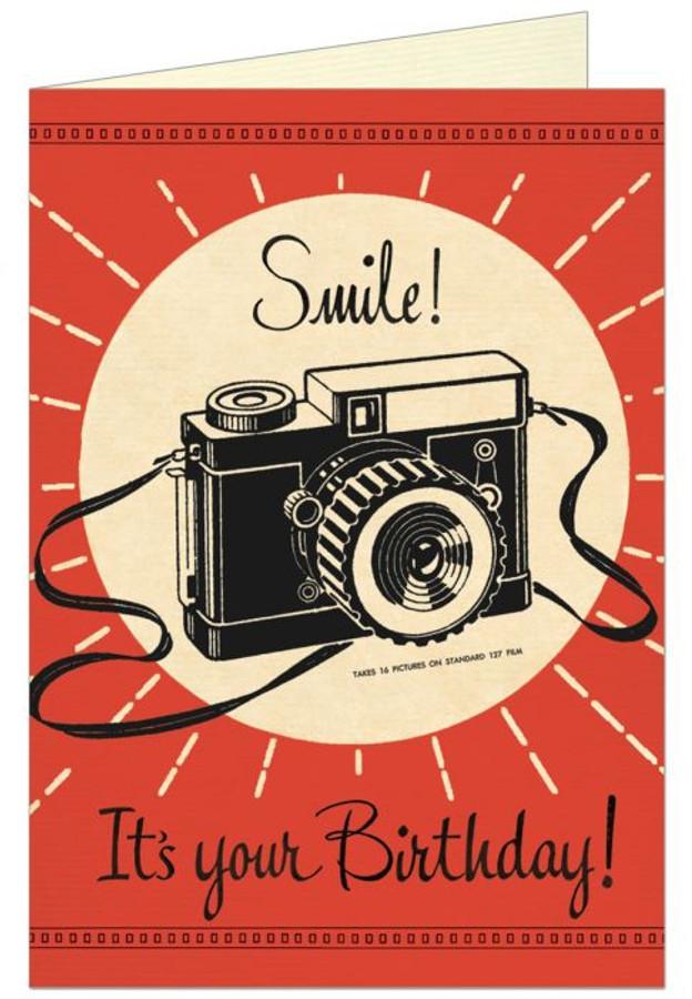 Cavallini & Co: Camera Birthday Smile