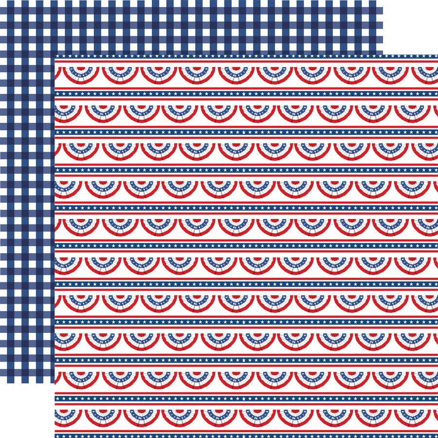 God Bless America: Bunting Banners