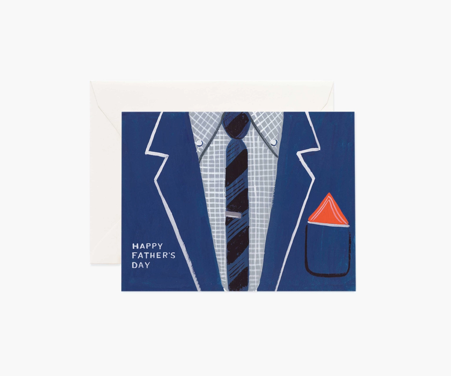 Rifle Paper Co: Father's Day Suit Single Card
