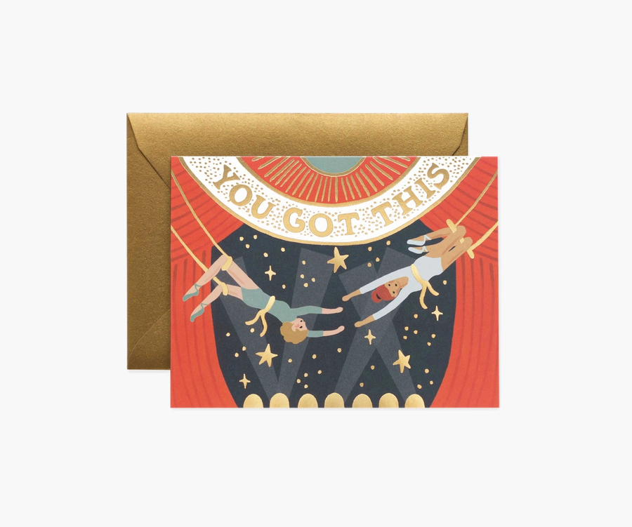 Rifle Paper Co: You Got This- Single Card